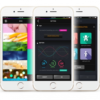 Onia® app chromotherapy