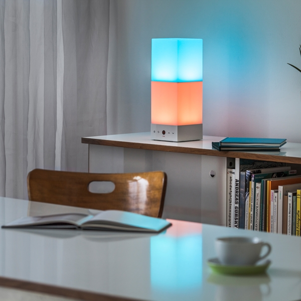 Onia® table - living with chromotherapy lamp